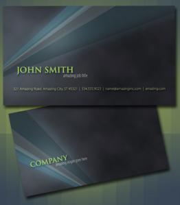 plantilla psd tarjeta de presentacion